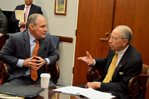 Pruitt and Grassley