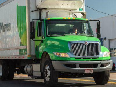 Delivery truck FoodMaven