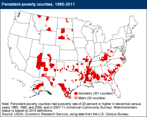 Persistent Poverty Map
