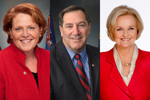 Heitkamp, Donnelly, McCaskill