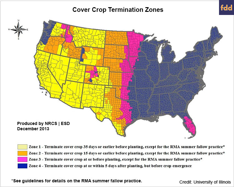 Cover Crop Map