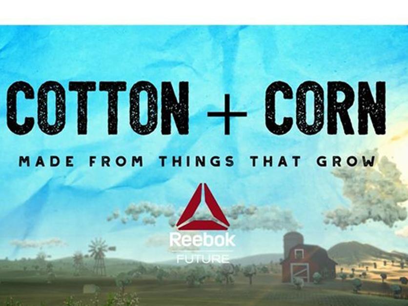 cotton and corn reebok