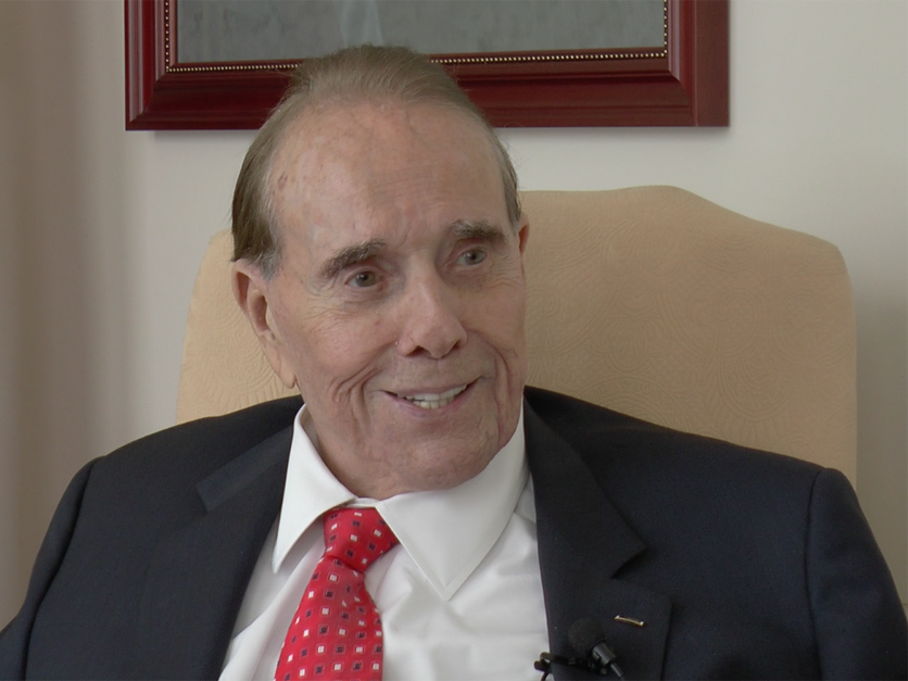 Former Senate Majority Leader Bob Dole