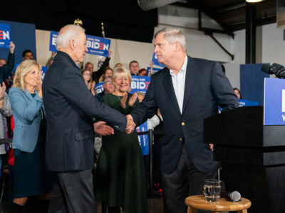Joe Biden and Tom Vilsack