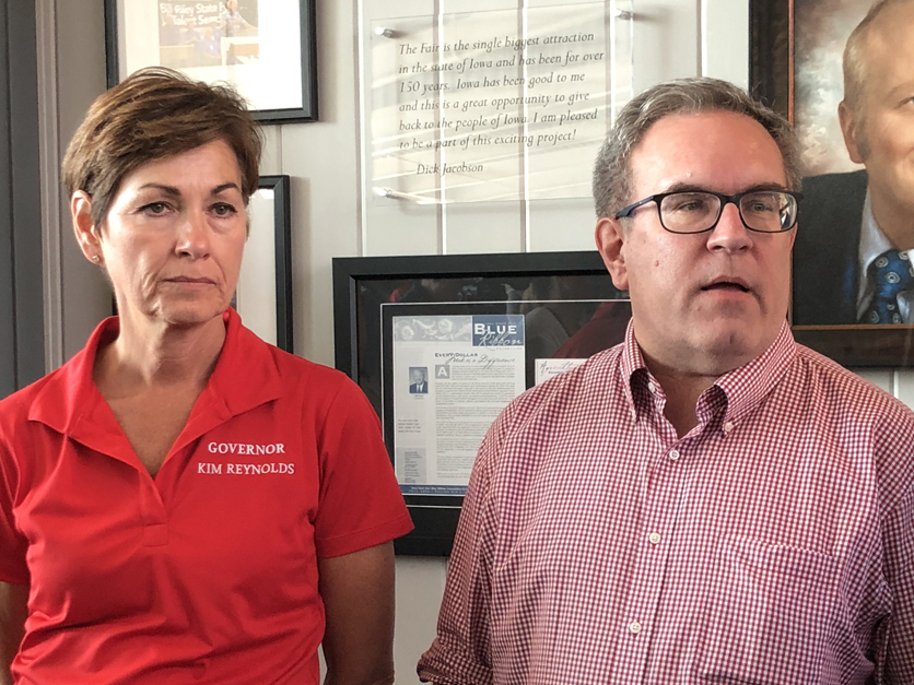 Andrew Wheeler and Kim Reynolds