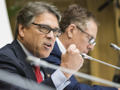 Energy Secretary Rick Perry
