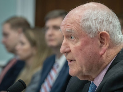 Perdue at House Ag Approps hearing 4-9-19