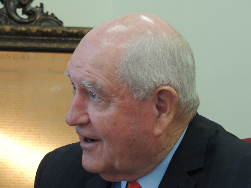 Ag Secretary Sonny Perdue interview with Agri-Pulse