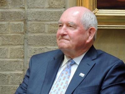 Ag Secretary Sonny Perdue