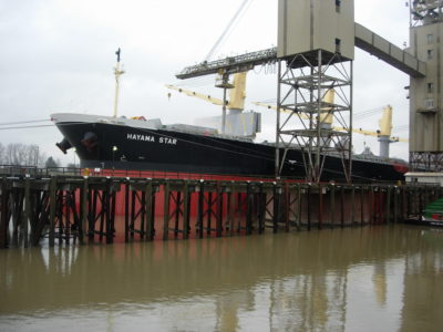Panamax Vessel US Wheat