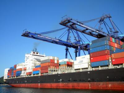 Brazil port conteineres de paranagua