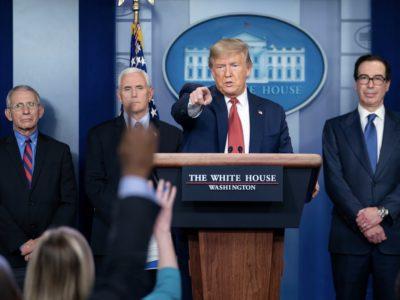 Trump COVID-19 briefing