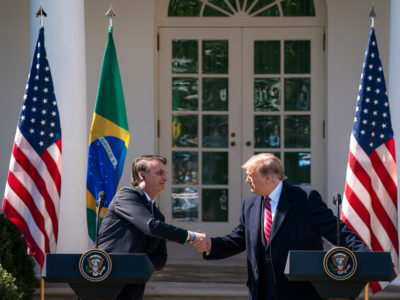 Donald Trump and Jair Bolsonaro