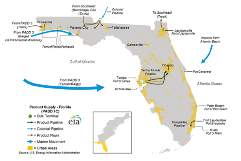Ag West Supply >> Irma spurs high gasoline demand as it disrupts Florida's supply chain | 2017-09-20 | Agri-Pulse