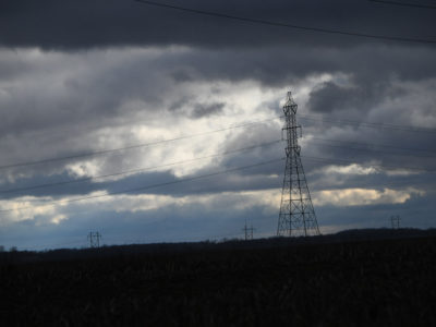 Rural power lines
