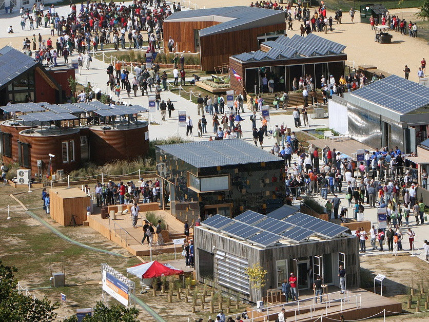 ebb537c2a Solar Decathlon underway in Denver