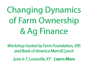 Changing Dynamics of Farm Ownership and Ag Finance
