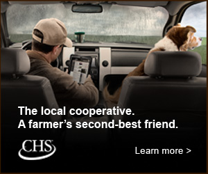 CHS The Local cooperative. A farmer's second-best friend.