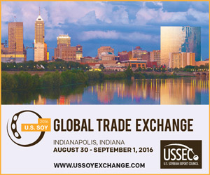 U.S. SOY Global Trade Exchange, August 30 - September 1, 2016