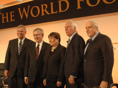 Secretaries of Agriculture at the World Food Prize