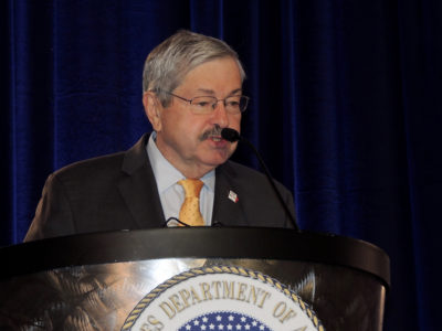 Iowa Governor Terry Branstad
