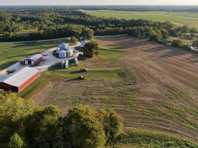 Farm elevated