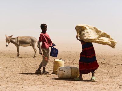 USAID photo of woman/boy