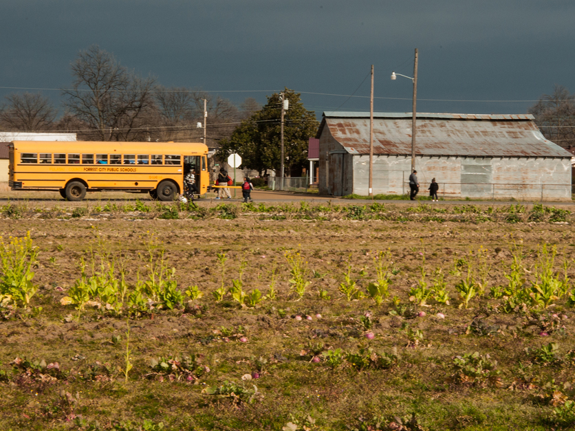 Rural school bus