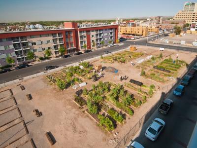 Urban farm garden