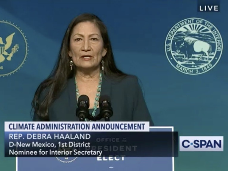 Deb Haaland introduction