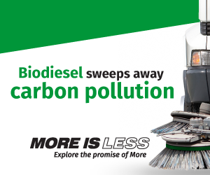 Biodiesel sweeps away carbon pollution