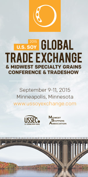 U.S. SOY Global Trade Exchange, September 9-11,2015