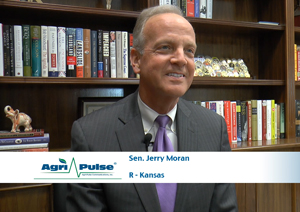Feature: For the first time in the history of the U.S. Senate, the chair of the Agriculture Committee and the Agricultural Appropriations Subcommittee are both from the same state. In this interview, Agri-Pulse talks to Sen. Jerry Moran of Kansas about his role on the appropriations committee.