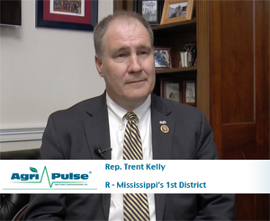 Feature: Rep. Trent Kelly came to Washington after a special election, but the Mississippi Republican has tried to make the most of his time in town. Recently elected for a second term, Kelly talks with Agri-Pulse about what he hopes to accomplish in Congress.