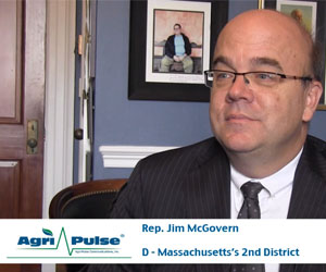 "Feature: After spending much of the 113th Congress fighting for strong nutrition programs, Massachusetts congressman Jim McGovern talks with Agri-Pulse's about why he isn't happy with the nutrition title in the 2014 Farm Bill, what he sees coming in the House Agriculture Committee in the 114th Congress, and why anyone that tries to cut nutrition funding ""is going to have a fight."