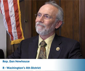 Feature: One of the newest members of the House Ag Committee, Dan Newhouse uses his experience as a former director of the Washington State Department of Agriculture to represent his constituents in Washington's 4th District. this edition of Meet the Lawmaker, Newhouse, who is also a farmer, talks about his goals in Congress and why farmers and ranchers need to stay involved in government.