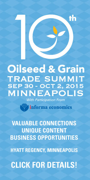 Oilseed and Grain Trade Summit 2015