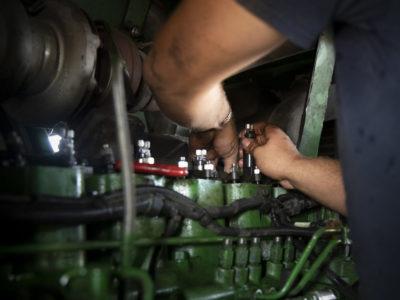 Equipment repair and maintenance