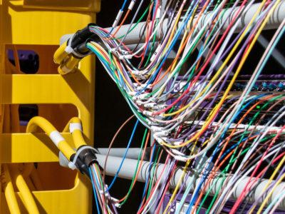 Rural broadband wiring