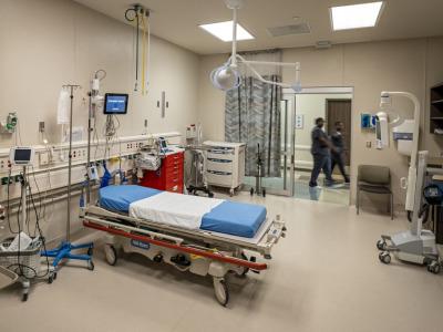 Rural hospital room