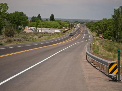 Rural road infrastructure
