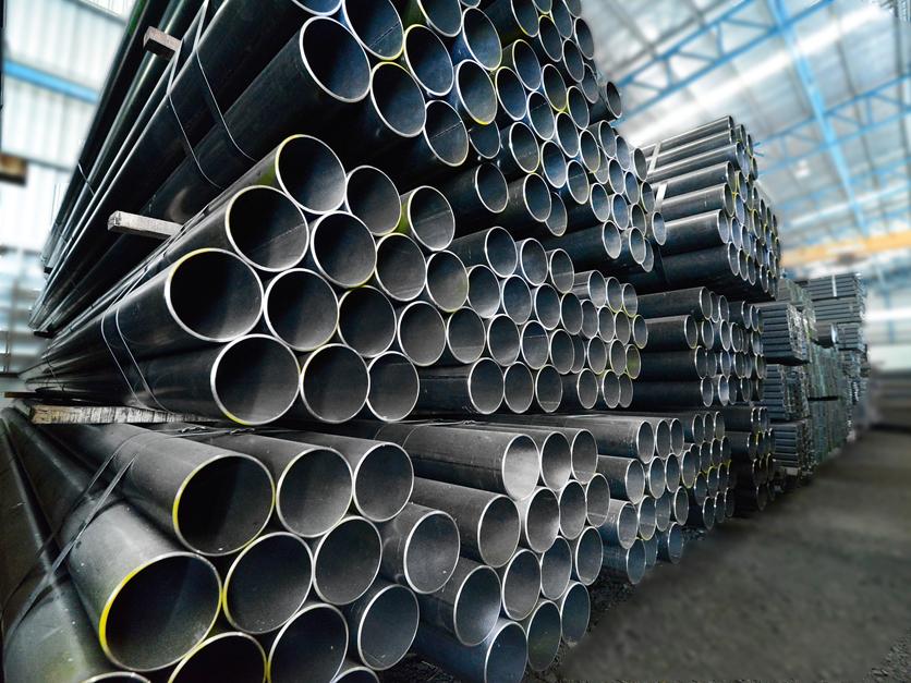 Steel metal tubes
