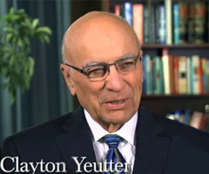 Feature: Clayton Yeutter&#8217;s efforts, both in government and the private sector, have had a lasting impact on the worldwide economy. He served as Secretary of Agriculture, U.S. Trade Representative and Counselor to the President, and also spent