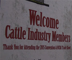 "Feature: After a great year in the cattle industry, the 2015 Cattle Industry Convention in San Antonio broke attendance records as cattlemen from across the country gathered to discuss what lies ahead. In this video, NCBA CEO Forrest Roberts and Past President Bob McCan discuss one of the key happenings of the convention, the NCBA approval of the beef checkoff MOU. "" /></a>