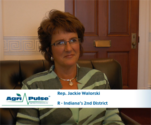 Feature: Indiana Republican Jackie Walorski has taken the lead on the House Ag Committee's review of nutrition assistance programs. In this video, she talks with Agri-Pulse about what she's learned in the process and the issue she'd most like to fix in Congress.