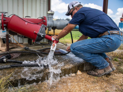 Irrigation water quality project