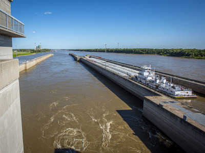Inland waterways locks dams barge infrastructure 2