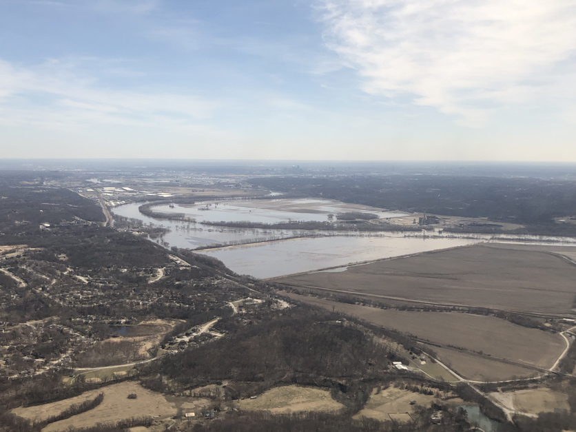 Missouri River in KC 2019