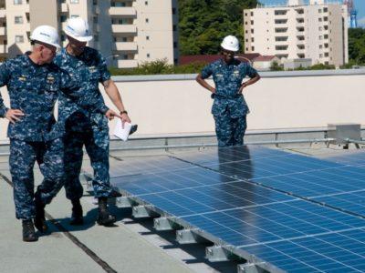 military renewables