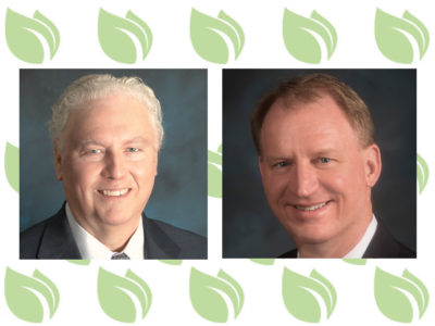 Tom Grumbly with SoAR and Chris Novak with CropLife America